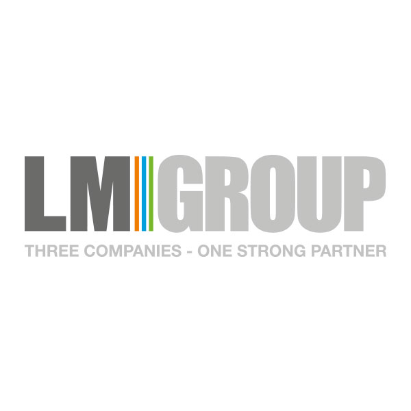 Logo LM GROUP - THREE COMPANIES - ONE STRONG PARTNER